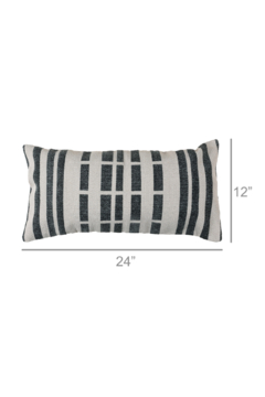 Homart Block Print Lumbar Pillow - Alternate List Image