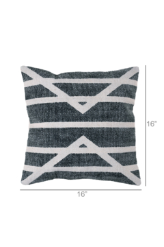 Homart Block Print Pillow Square - Alternate List Image