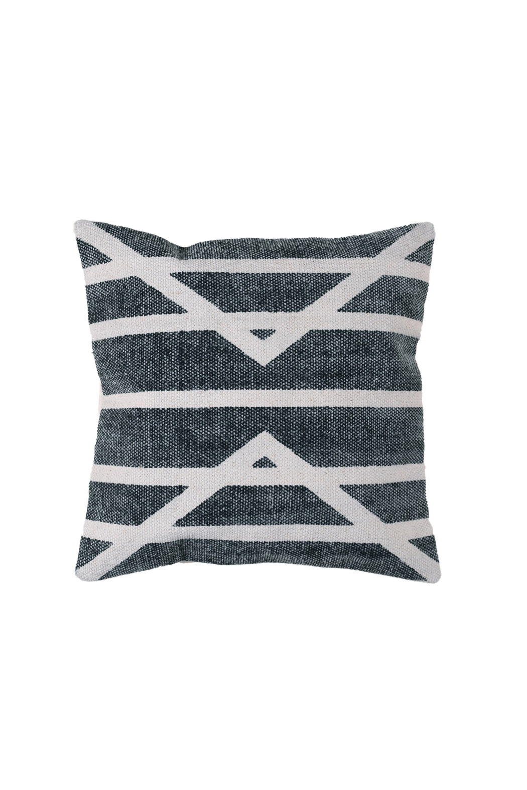 Homart Block Print Pillow Square - Front Cropped Image