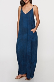 Lovestitch Block Printed Maxi - Back cropped