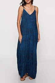 Lovestitch Block Printed Maxi - Front cropped
