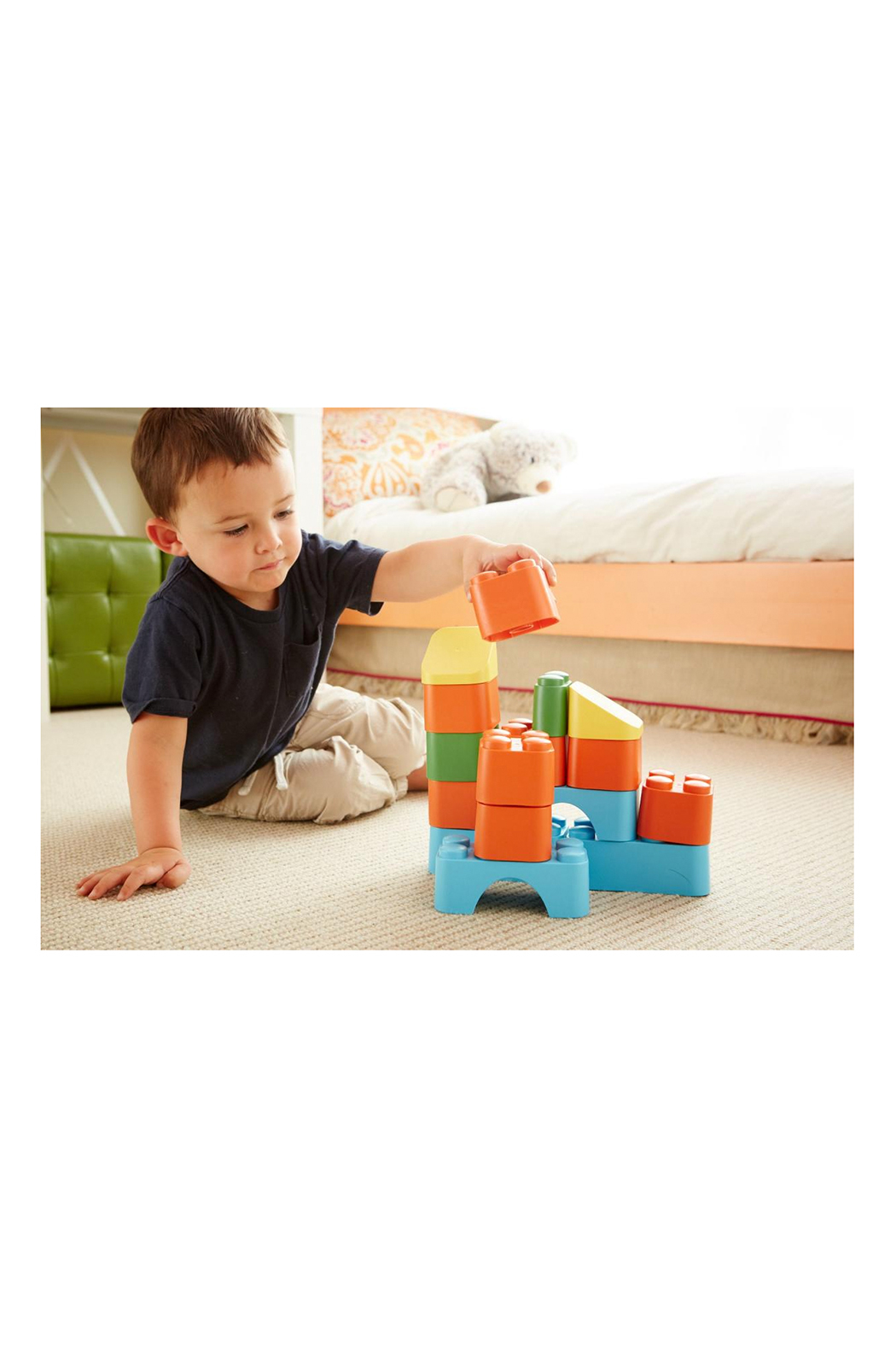 Green Toys Block Set - Side Cropped Image