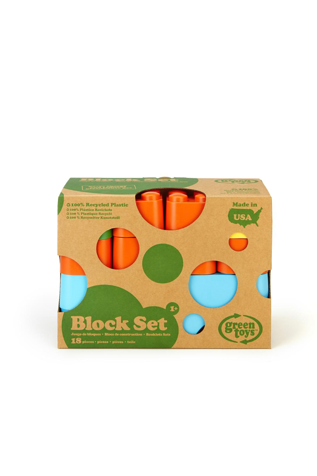 Green Toys Block Set - Front Full Image