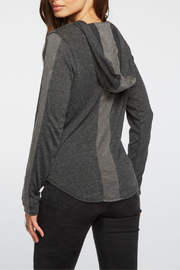 Chaser Blocked Jersey ZIp-up Hoodie - Front full body