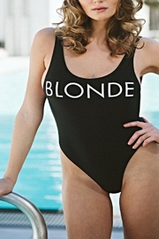 Brunette The Label Blonde One Piece - Front cropped