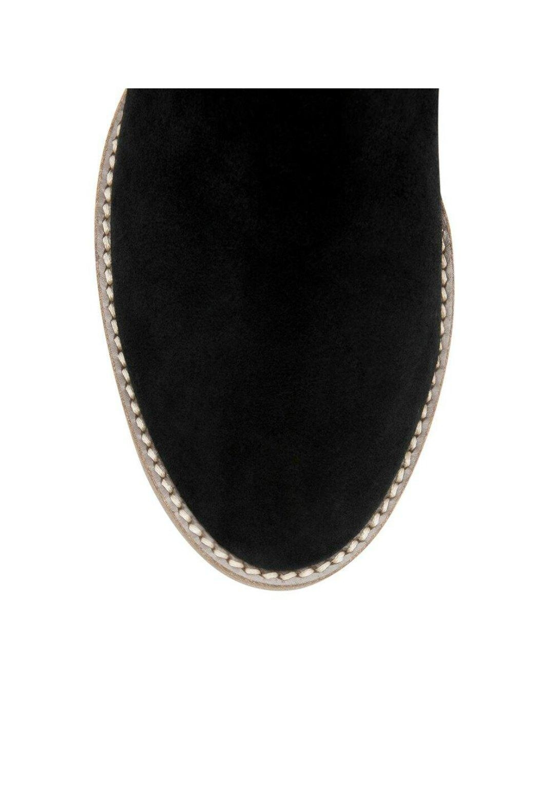 Blondo Nelson Suede Bootie - Back Cropped Image