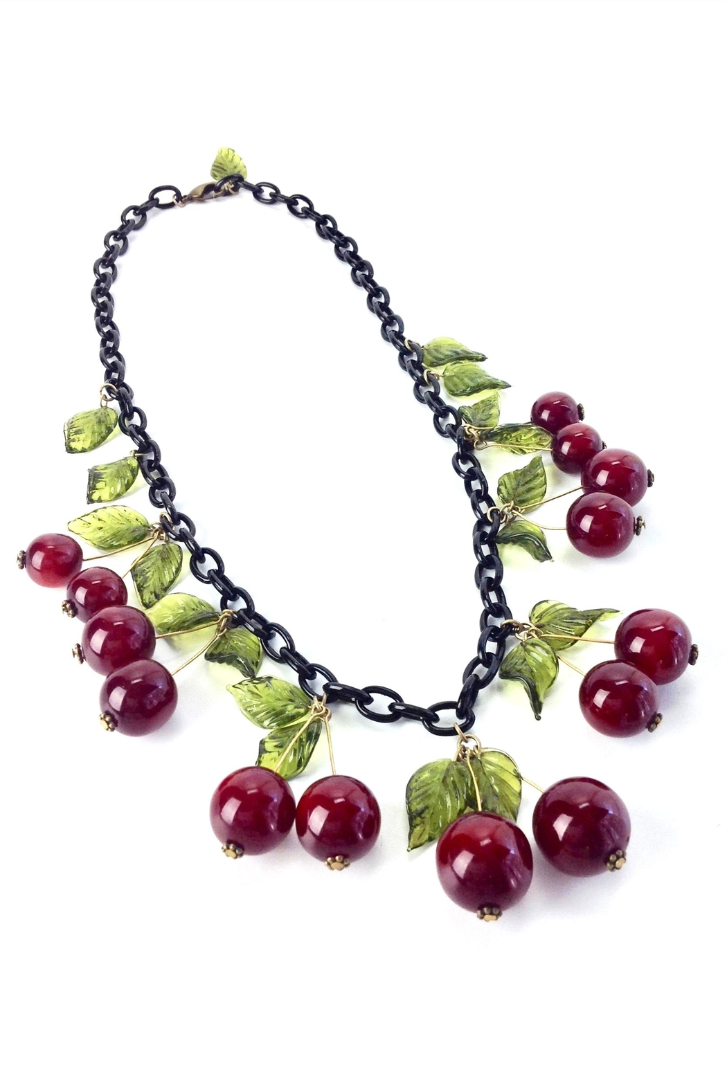GHome2 Blood Cherry Necklace - Side Cropped Image