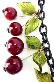 GHome2 Blood Cherry Necklace - Back cropped