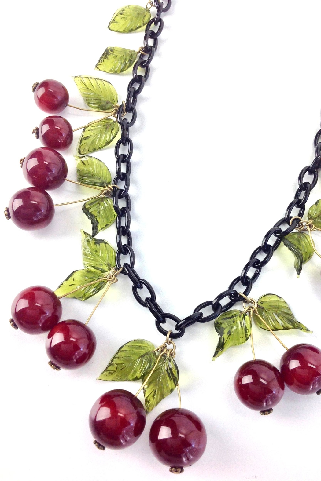 GHome2 Blood Cherry Necklace - Front Full Image