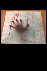 New Mix Bloody Hand Tapestry - Product Mini Image