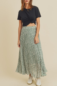 In Loom Bloom Midi Skirt - Product List Image