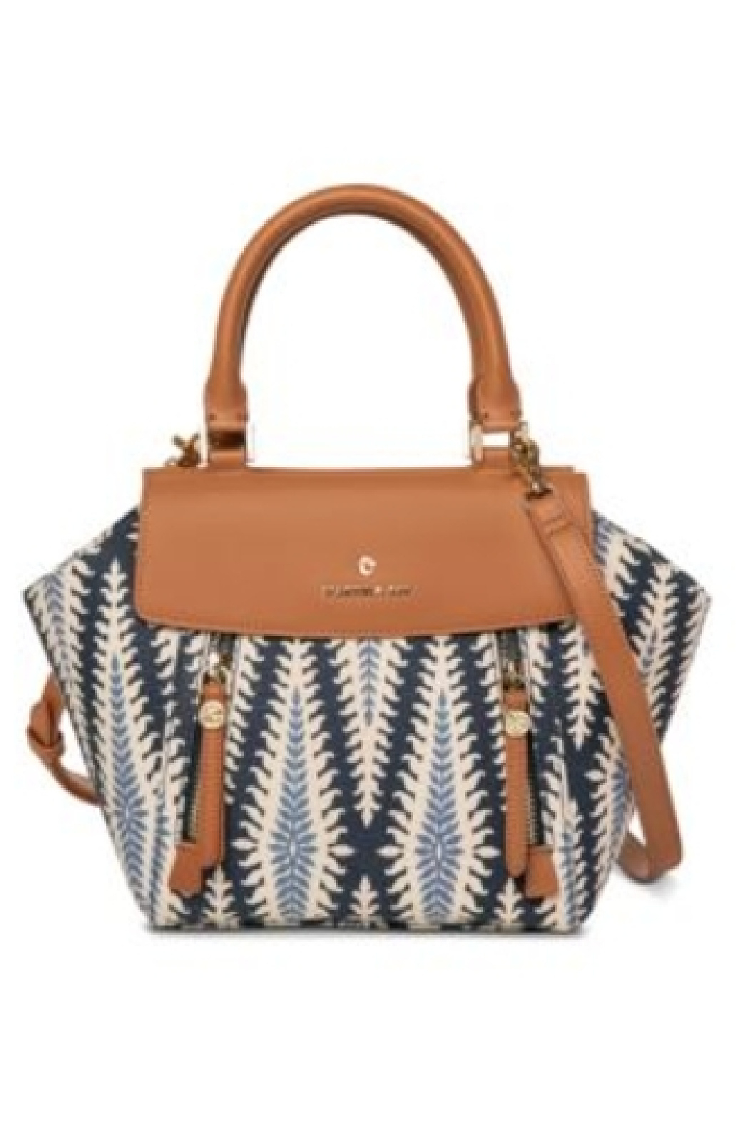 Spartina 449 Bloom Satchel - Front Cropped Image