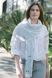 Bloom & Give Blue Gaya Scarf - Other