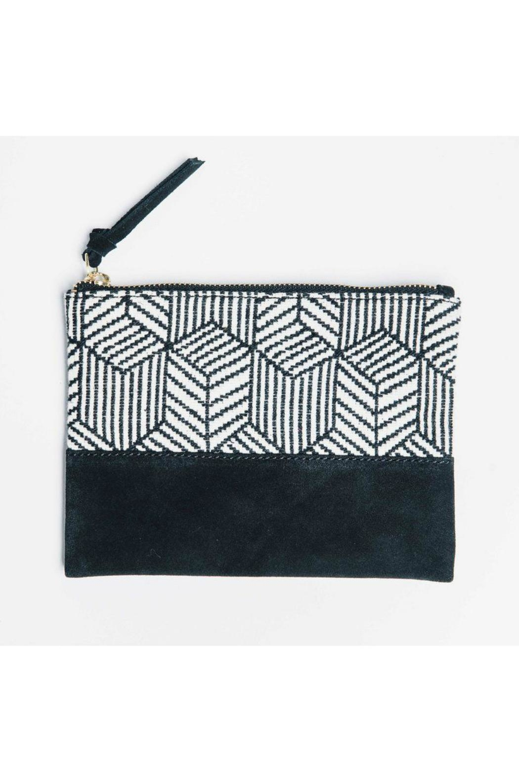 Bloom & Give Cosmetic Organizer Clutch - Front Cropped Image
