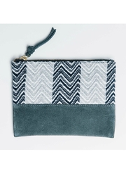 Bloom & Give Cosmetic Organizer Clutch - Front cropped