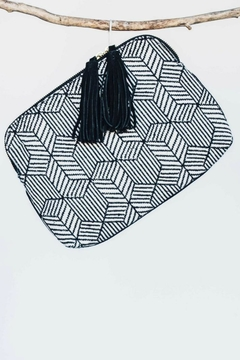 Shoptiques Product: Fabric Clutch Bag