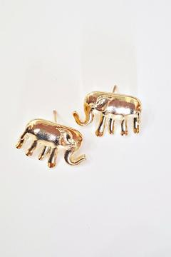 Shoptiques Product: Elephant Earrings