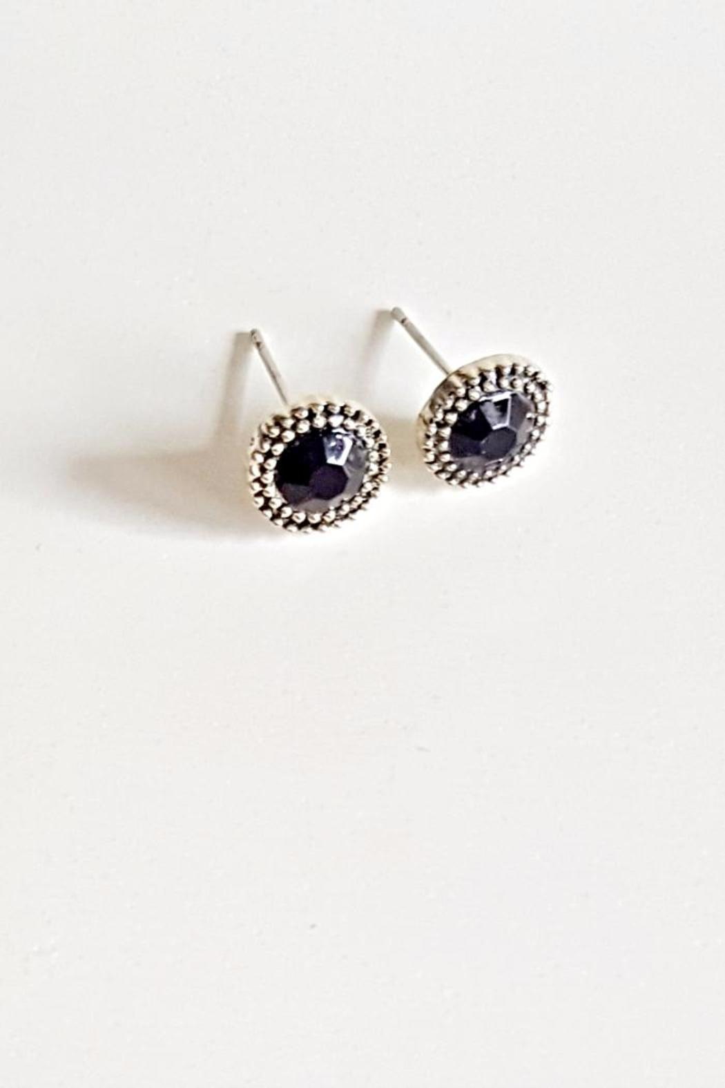 Bloom Jewelry Stone Studs - Front Cropped Image