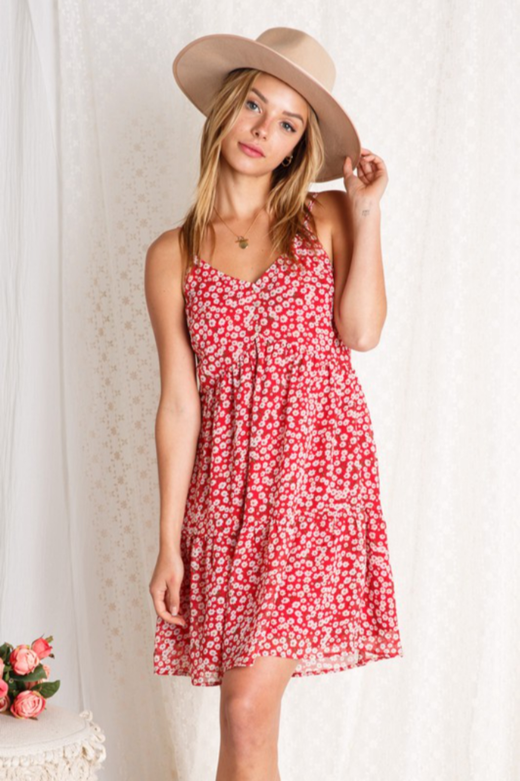 BaeVely Blooming Dress - Front Full Image