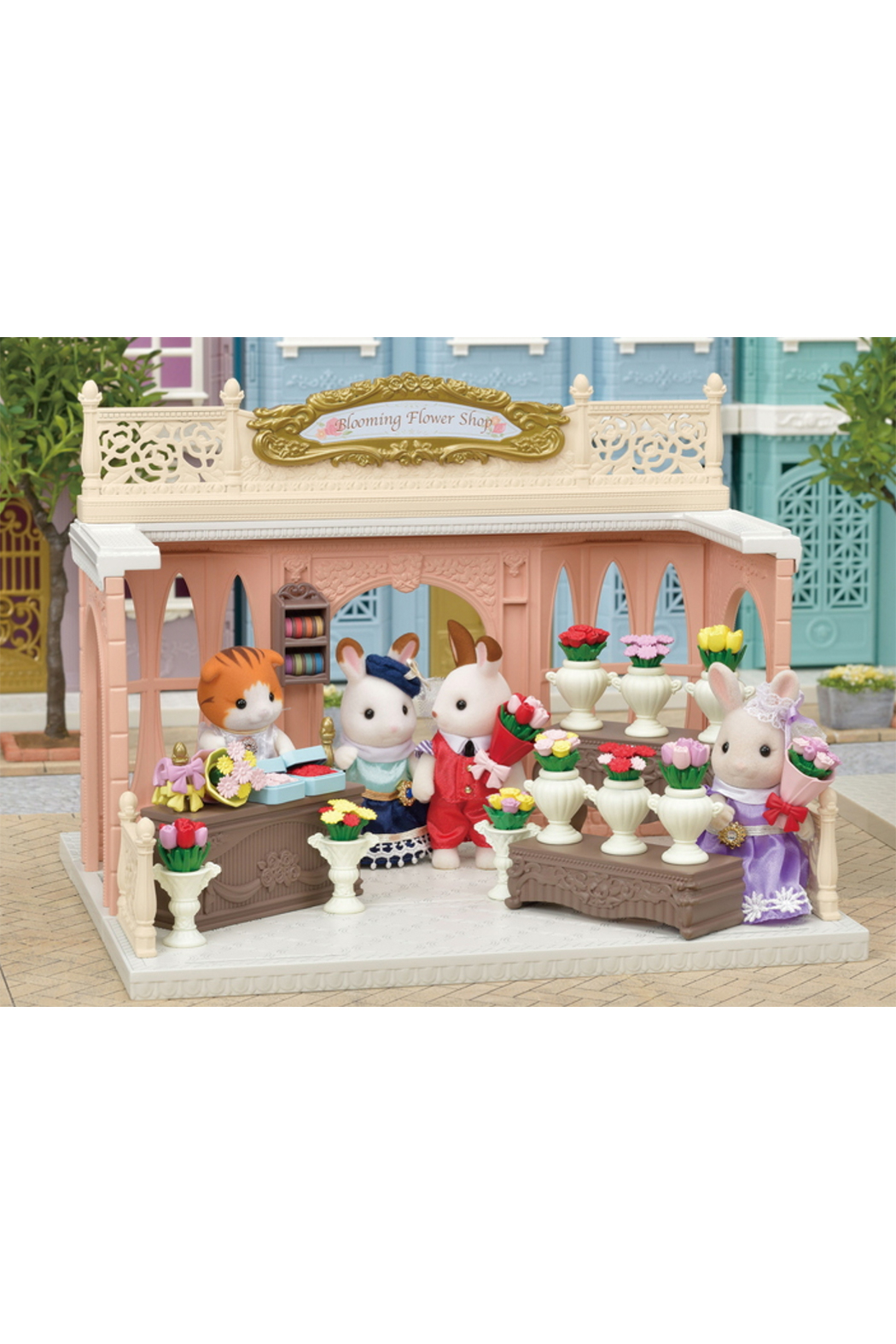 Calico Critters Blooming Flower Shop - Side Cropped Image