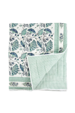 Shoptiques Product: Blooming Quilted Throw