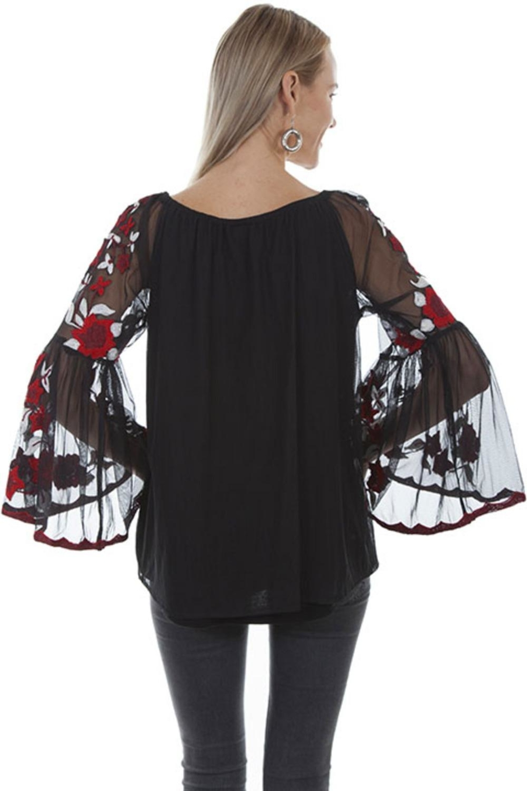 Scully Blooming Romance Top - Front Full Image