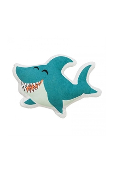 Bloomingville Blue Shark Pillow - Alternate List Image