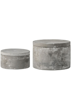 Bloomingville Cement Stacking Boxes - Alternate List Image