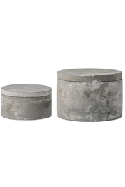 Bloomingville Cement Stacking Boxes - Product Mini Image