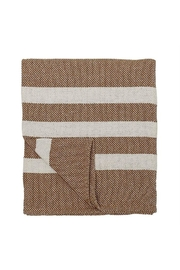 Bloomingville Cotton Throw - Rust - Product Mini Image