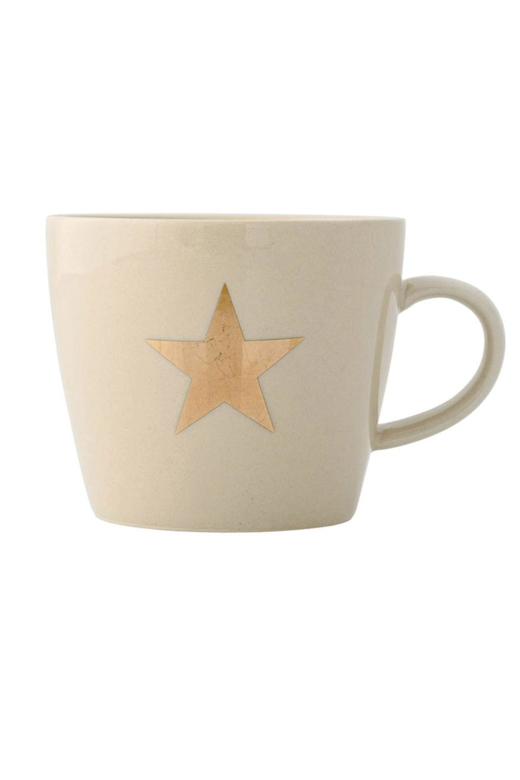 Bloomingville Gold Star Mug - Front Cropped Image