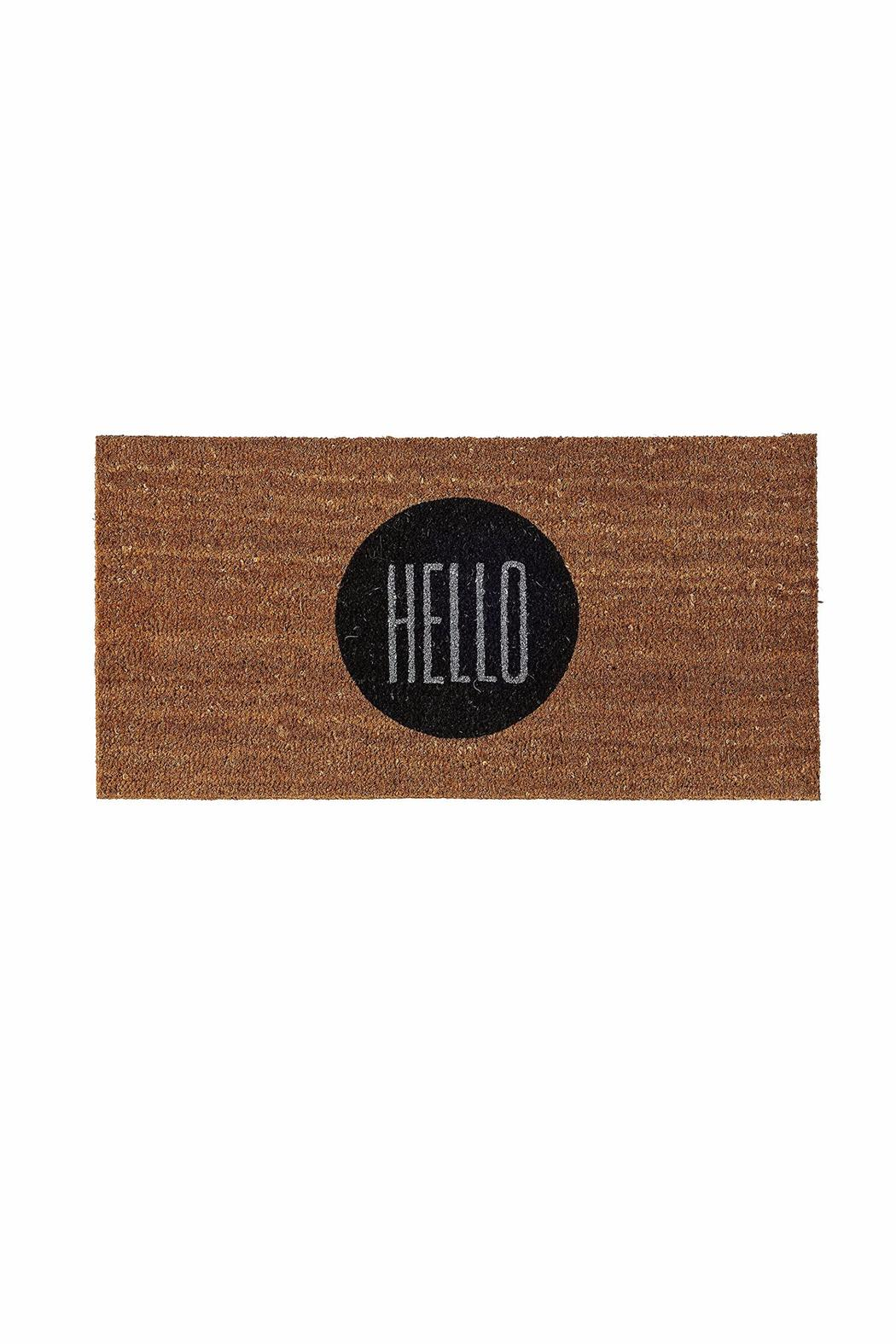 Bloomingville Hello Door Mat - Front Cropped Image  sc 1 st  Shoptiques & Bloomingville Hello Door Mat from Buffalo by Ro u2014 Shoptiques pezcame.com