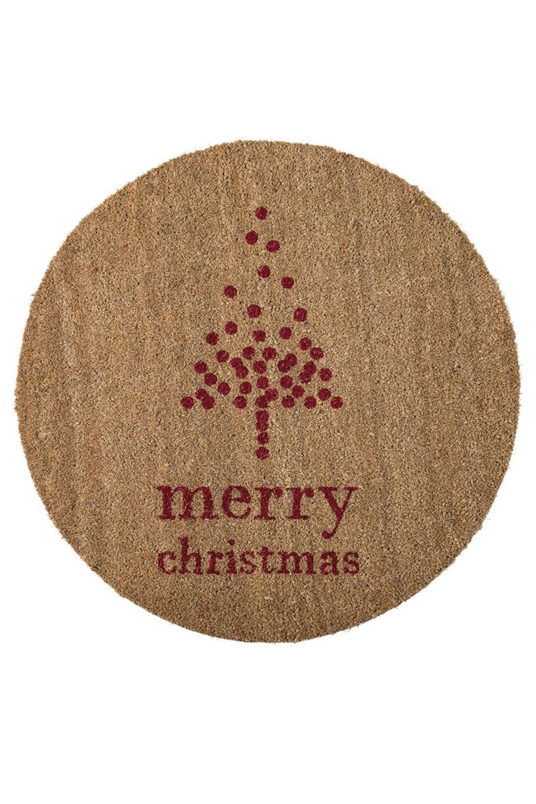 Bloomingville Merry Christmas Doormat - Main Image