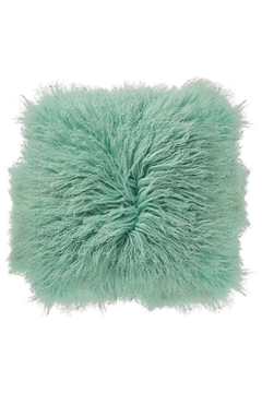 Bloomingville Mint Mongolian Pillow - Alternate List Image