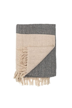 Bloomingville Natural Cotton Throw - Alternate List Image