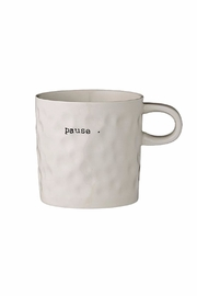 Bloomingville Pause Mug - Front cropped
