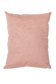 Bloomingville Pink Cotton Cushion - Front full body
