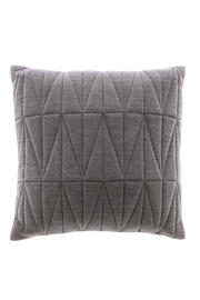 Bloomingville Quilted Chambray Pillow - Product Mini Image