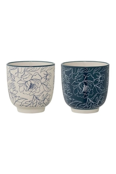 Bloomingville Stoneware Fleur Cup - Product List Image