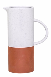 Bloomingville Terra Cotta Pitcher - Product Mini Image