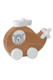 Bloomingville Wooden Toy Plane - Product Mini Image