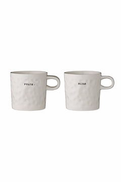 Shoptiques Product: Yours & Mine Mugs
