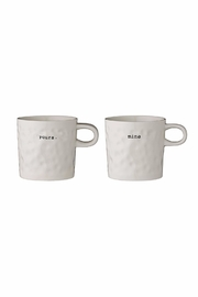 Bloomingville Yours & Mine Mugs - Product Mini Image