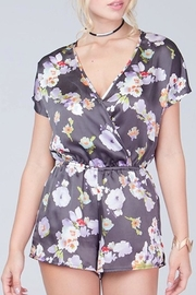 Blooms in The City Floral Romper - Product Mini Image
