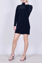 Blooms in The City Turtleneck Mini Dress - Product Mini Image