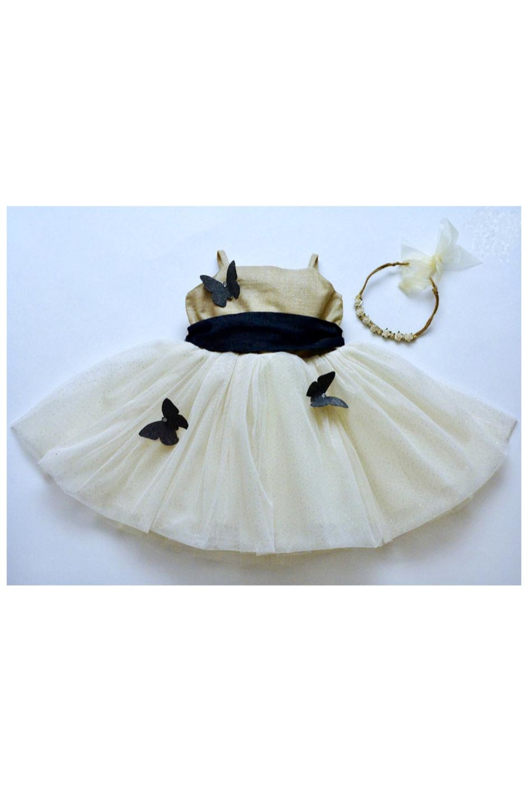 Magpie and Mabel Blossom Butterfly Dress - Main Image