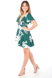 Blossom Forest Mini Dress - Front cropped