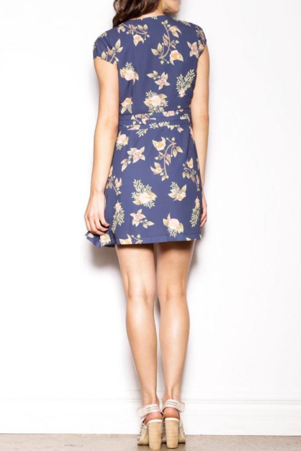 Pink Martini Collection Blossom Out Dress - Side Cropped Image