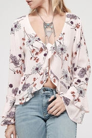 Blu Pepper Blossom Pink Top - Product Mini Image