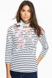 Joules Blossom Stripe Top - Product Mini Image